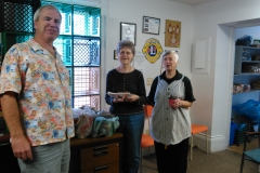 donation to Digby food bank
