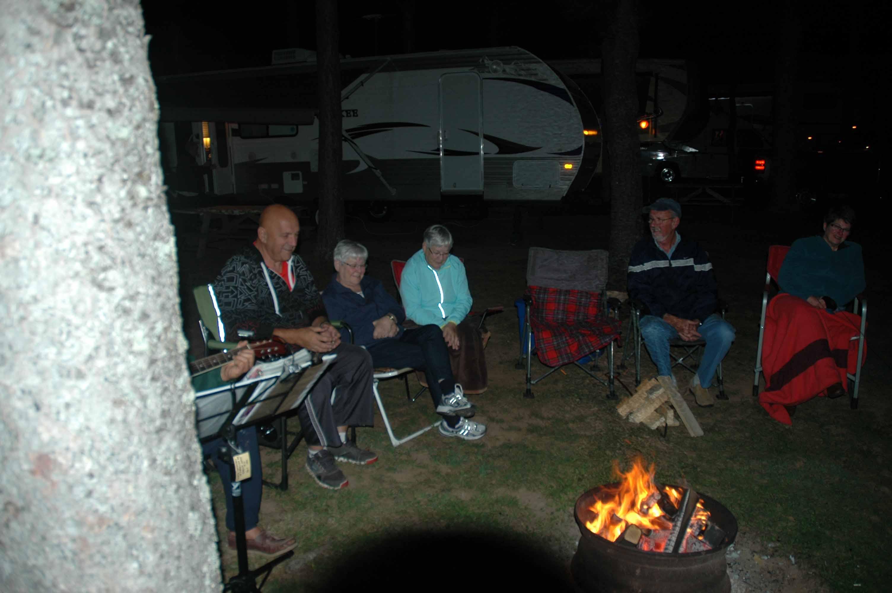 Friday campfire 2